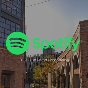 Spotify dtla arts district