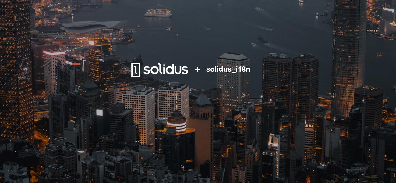 Solidus i18n