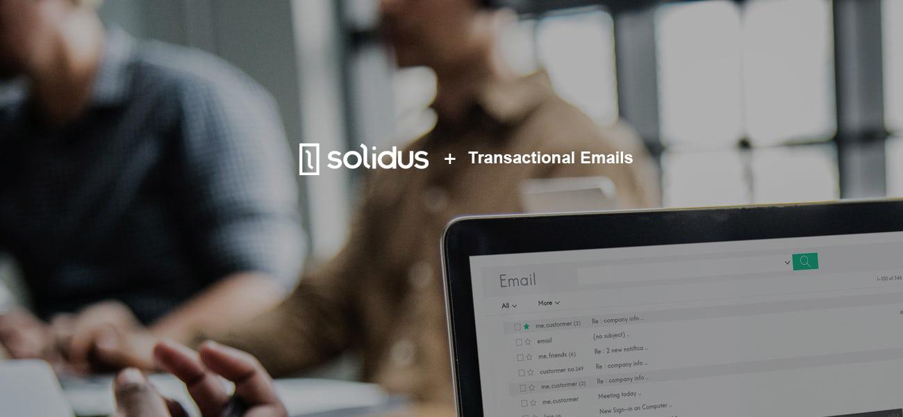 Blog transactional emails